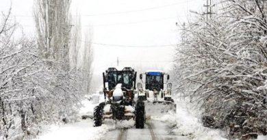 Ulaşımda Kar Ve Buz Engeli. Kapalı Yollar!