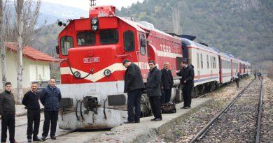Yenilenen, Samsun, Sivas Demiryolu'nda Tren Seferleri Başlıyor.