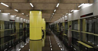 İstanbul'da İkinci Sürücüsüz Metronun Test Sürüşleri Başladı.