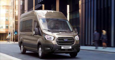 Ford Transit, 10 Vitesli Otomatik şanzıman Seçeneğiyle Türkiye'de Satışa Sunuldu.