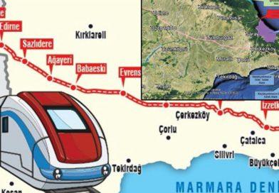 Çevreci' Halkalı-Kapıkule hızlı demiryolu hattının yapımı tüm hızıyla sürüyor.