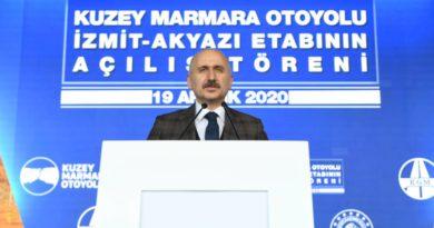 Kuzey Marmara Otoyolu Açıldı…