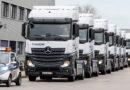 Mercedes Benz 'in Kamyon ürün Grubu, Türkiye'de Yeniliklerle Pazara çıktı.